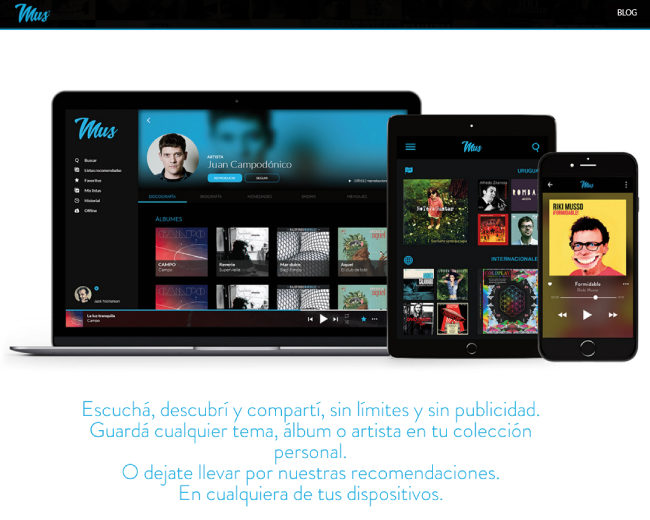 Mus – la nueva app de música uruguaya